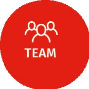 Damespruiken echt haar - Team Icon