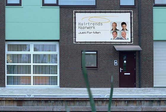 Pruikenwinkel Amsterdam - Just For Men locatie