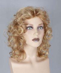 Middellang Blond Krullend